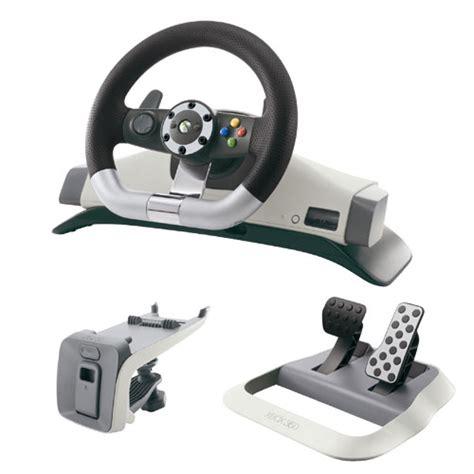 volante xbox360 microsoft volant pour xbox 360 accessoire console de