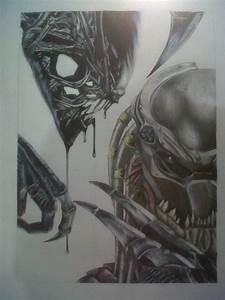 Alien Vs. Predator by kev1612 on DeviantArt