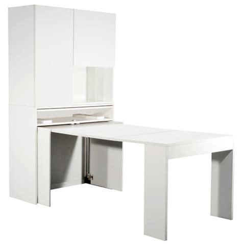 meuble table de cuisine meuble de cuisine avec table escamotable maison et