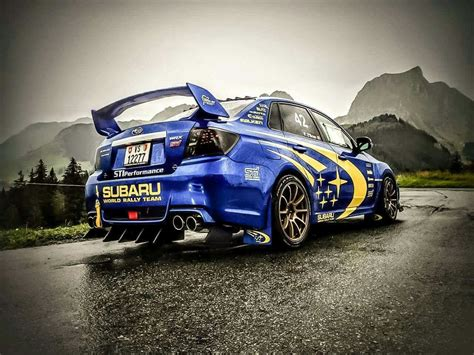 Subaru, Rally And Cars