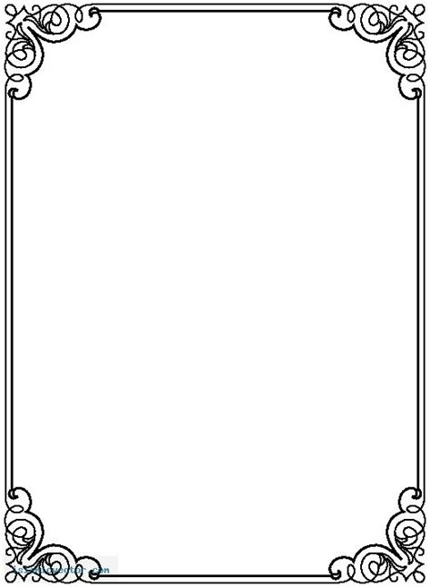 Blank picture frame template vectors (19,209). Awsome Backgrounds Wallpapers Free Page Borders To Download | Page borders free, Page borders ...