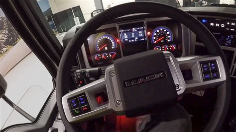 exclusive drive   mack anthem truck youtube