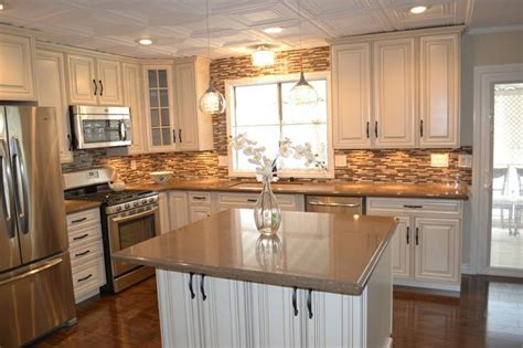 Decorating Ideas For Mobile Homes Kitchen by Mobile Home Kitchen Remodel Kitchen Decor Home