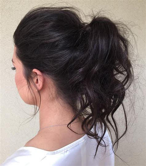 ponytail hairstyles for medium hair 30 eye catching ways to style curly and wavy ponytails