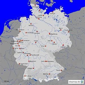 Schönsten Städte Deutschland : deutschland st dte von pramschiefer landkarte f r deutschland ~ Frokenaadalensverden.com Haus und Dekorationen