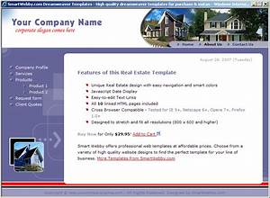 cool real estate template With cool dreamweaver templates