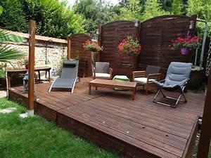 Terrasse Pas Cher : terrasse en bois pas cher terrasse en bois pas cher lame ~ Edinachiropracticcenter.com Idées de Décoration