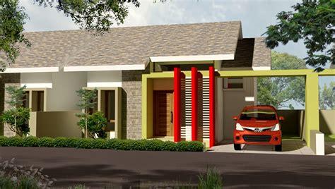 gambar model desain rumah minimalis modern terbaru type