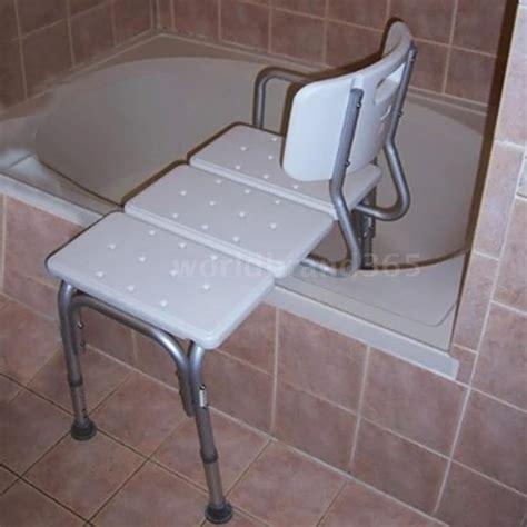 New Shower Bath Seat Medical Adjustable Bath Tub Transfer