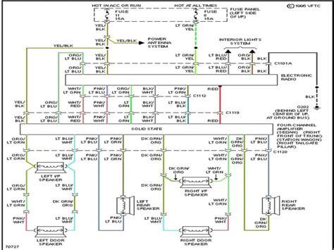 Ford Crown Victoria Radio Wiring Diagram Forums
