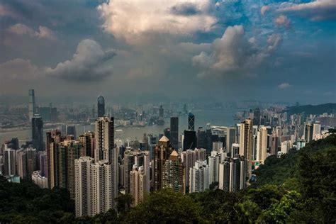 skyline views   peak hong kong travel