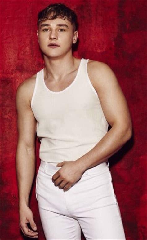 ben hardy gay  straight girlfriend underwear