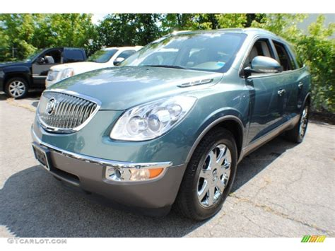 Buick Enclave Colors by 2009 Silver Green Metallic Buick Enclave Cxl Awd 68889366