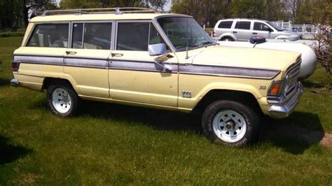 1971 jeep wagoneer 1971 jeep grand wagoneer amc 1414x for sale in lansing