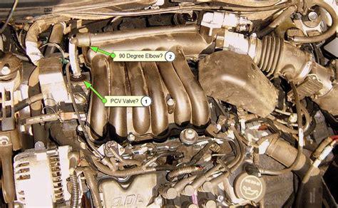 pcv valve location taurus car club  america ford