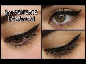 Eyeliner Für Anfänger : der perfekte eyeliner f r anf nger youtube ~ Frokenaadalensverden.com Haus und Dekorationen