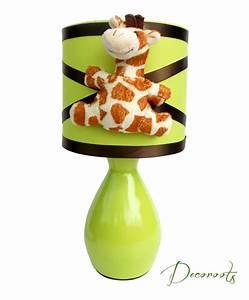 Lampe Chevet Enfant : lampe de chevet enfant b b girafe vert anis enfant b b luminaire enfant b b decoroots ~ Teatrodelosmanantiales.com Idées de Décoration