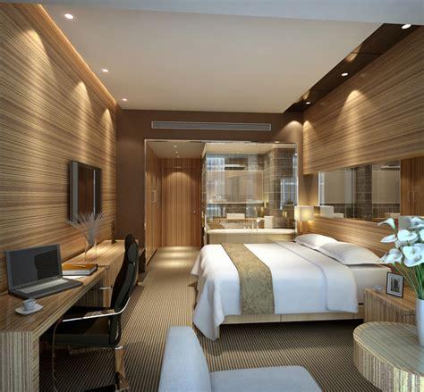 modern hotel room interior 3d free 3d models