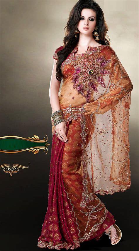 images  bridal sareesamazon  pinterest