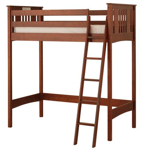 Canwood Loft Bed by Canwood Base C Loft Bed Cherry