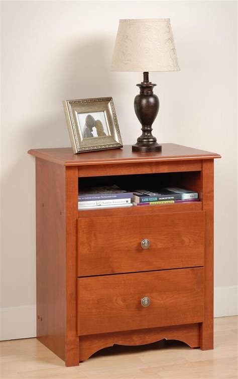 Bedroom Furniture Stands by Bedroom Furniture Sonoma 2 Drawer Stand Cherry Ebay