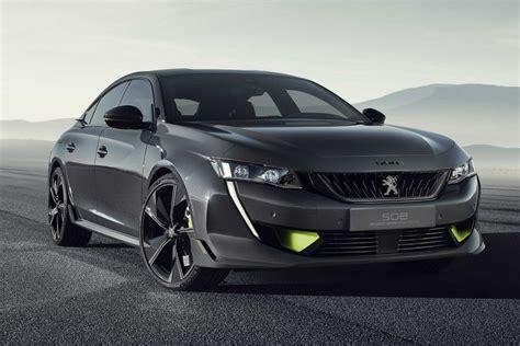 Peugeot Sport by Peugeot Sport 508 Engineered Concept 2019 Infos Et