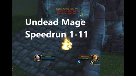 wow classic undead mage tirisfal glades vanilla leveling guide speedrun
