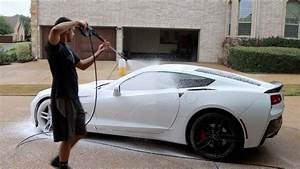 Touchless Car Wash With Foam Cannon  Power Washer  U0026 Leaf