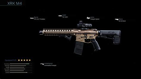 m4 xrk warzone cod warfare modern weapons weapon duty call blueprint class attachments blueprints assault rifles tier legendary shadowsight lmg
