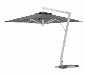 Grand Parasol Déporté : parasol d port de terrasse grand parasol de luxe excentrt haut de gamme ~ Teatrodelosmanantiales.com Idées de Décoration