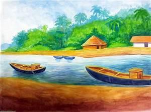 Easy Scenery Paintings For Kids | www.pixshark.com ...