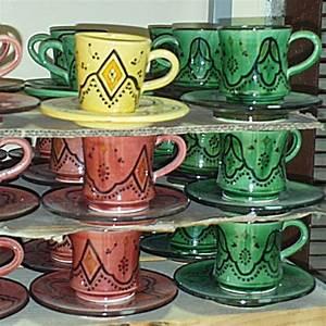 Tasse Et Sous Tasse : tasse et sous tasse caf marocaines en c ramique ~ Teatrodelosmanantiales.com Idées de Décoration