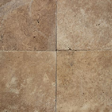 tumbled noce travertine tile 406x610x12mm noce tumbled travertine tile 8169 tile factory outlet pty ltd