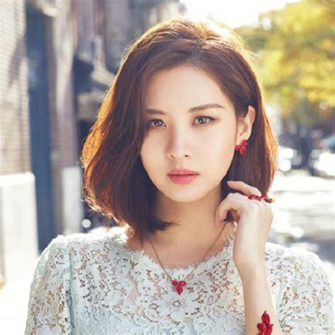 korean celeb inspired haircuts  colours