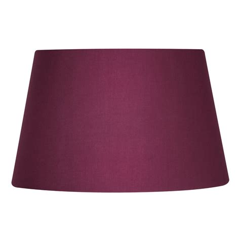 14 inch drum l shade wine cotton drum l shade 14 inch s901 14wi oaks lighting