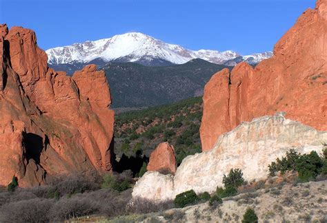 Garden Of The Gods How by Hayden S Landscapes Revisited Garden Of The Gods