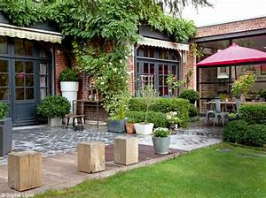 une maison du nord pleine de trouvailles planete deco a With photo de jardin de maison 13 decoration escalier exterieur