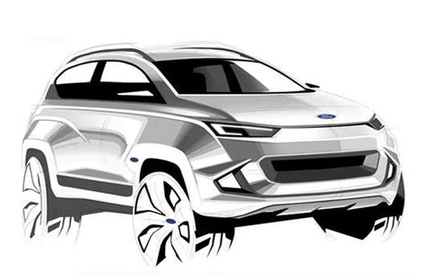 ford mach  crossover   unveiled   autocar india