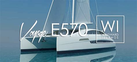 Best Cruising Catamaran Brands by Voyage E570 Luxury Cruising Sailing Catamaran By Voyage Yachts