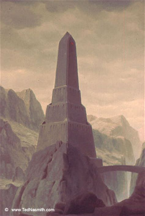 tower  barad dur ted nasmith