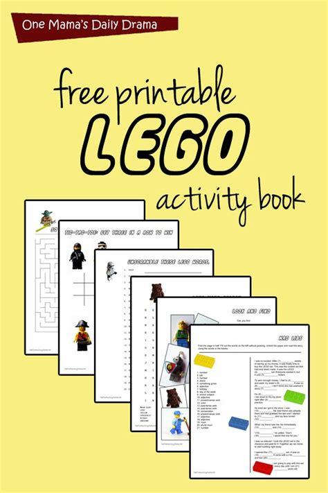 printable lego activity book kid stuff lego activities