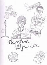 Dynamite Napoleon Drawing Liger Trisha Getdrawings Drawings sketch template