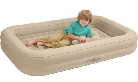 intex travel bed travel cot bed baby child toddler air beds