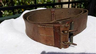 Belt Leather Military German Identifying Mystery Buckles