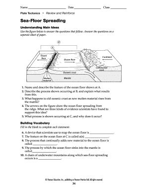 sea floor spreading worksheet pdf sea floor spreading worksheet answer key thefloors co
