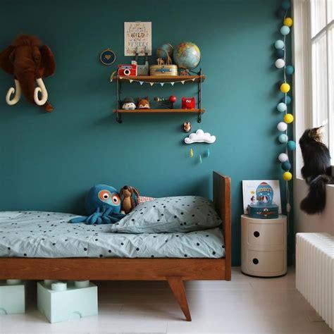 chambre garcon peinture deco chambre bebe garcon bleu canard