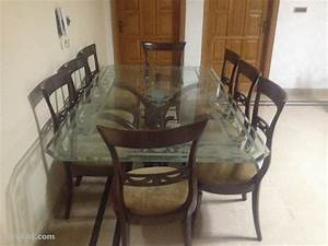 8 seater dining table with chairs furniture for sale in With used home furniture for sale in rawalpindi