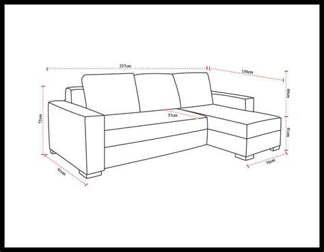 dimensions de votre canapé d 39 angle convertible