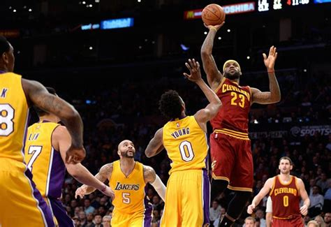 los angeles lakers  cleveland cavaliers