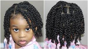 Two Strand Twists for Kids | Natural Hair - YouTube